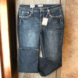 NWT Earl Jeans bootcut size 12